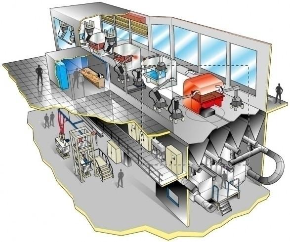 Technical illustration cutaway - medjid | ello