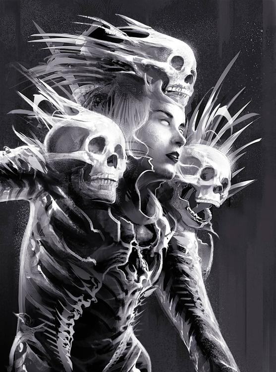illustration, digitalart, death - danielreyes-5557 | ello