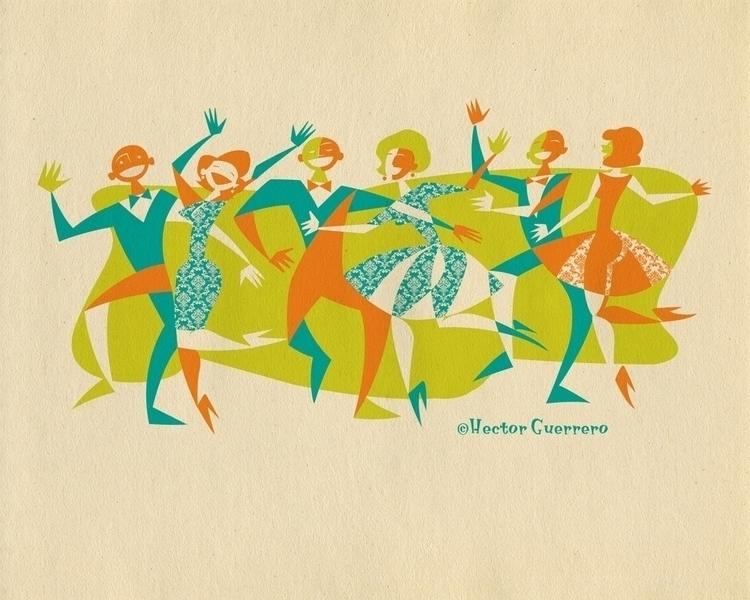 Dance Party - grasshopperhilldesign# - apeles | ello
