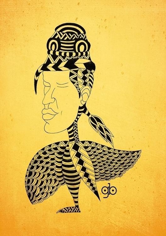 Monstere - 1, illustration, drawing - gianbautista-3099 | ello