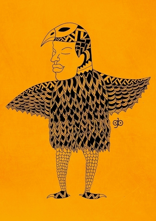 Monstere - 3, drawing, illustration - gianbautista-3099 | ello