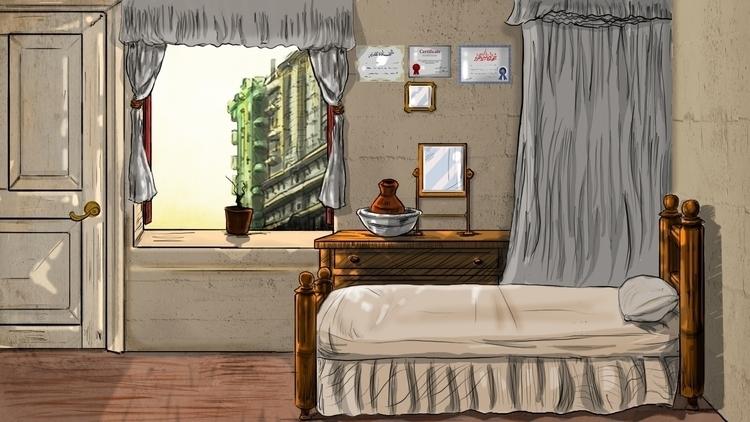 room, Rofat El-shahhed motion c - mahmoudswielam | ello