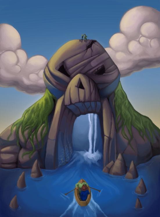 Skull Rock - SkullRock, Neverland - tallytodd | ello
