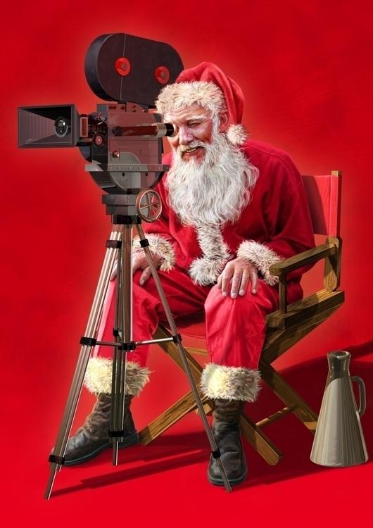 Santa | DVD - 3D, Modelling, DigitalIllustration - vantage-9372 | ello