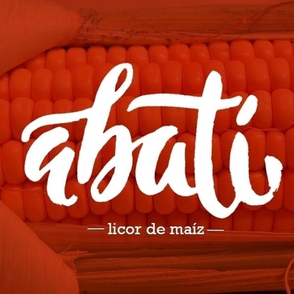abatí - illustration, type, typography - astrdmargaritaa | ello