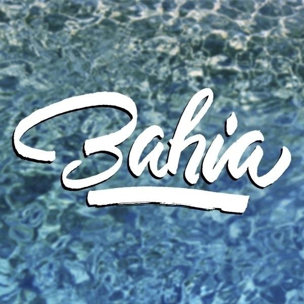 bahia sea food - logo, logoytype - astrdmargaritaa | ello
