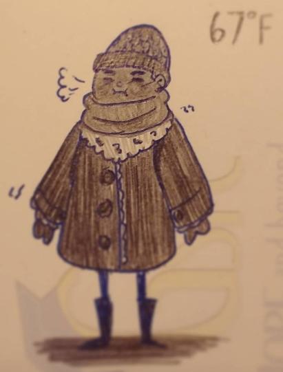 Brrrr - design, drawing, conceptart - feather827art | ello