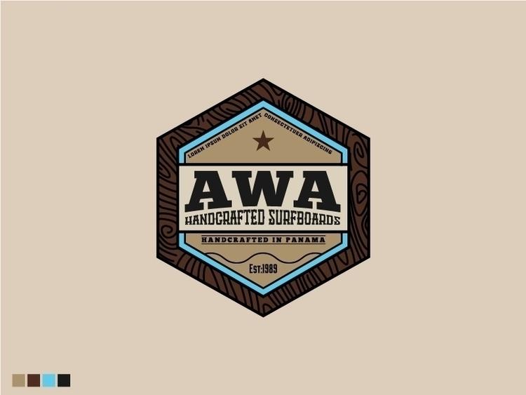 AWA Surfboards Logo Design - logo - sztufi | ello