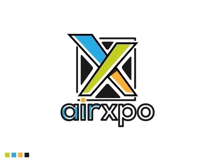 Airxpo Logo Design - logo, logodesign - sztufi | ello