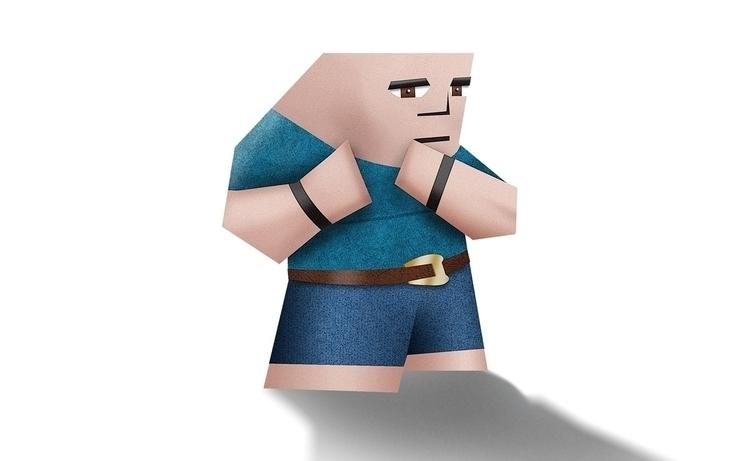 Concept character based fight g - felicijansedmak | ello