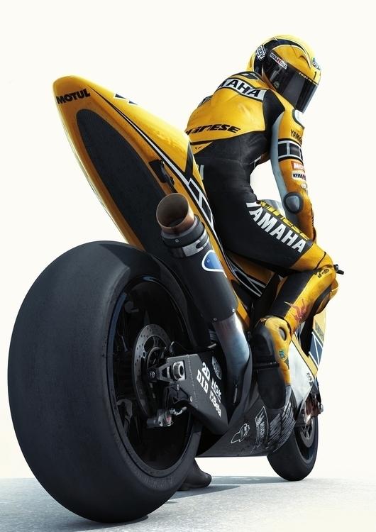 Moto GP Key Art - bmcaff | ello