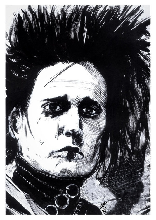 Edward Scissorhands (Traditiona - oscartriana | ello