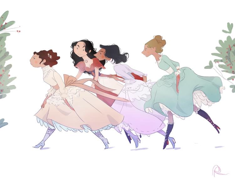 illustration, characterdesign - rreid-8875 | ello