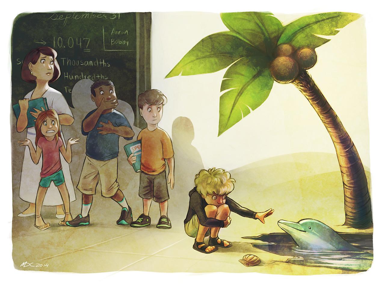illustration inspired boy Asper - mhaus | ello