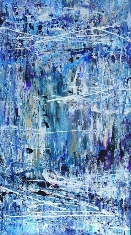 Ice. 180 100. Acrylic Canvas. 2 - tanya_vasilenko   ello