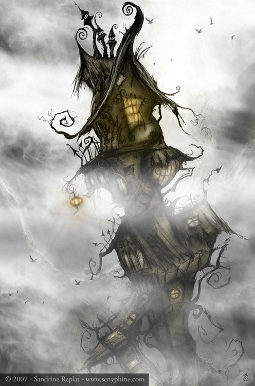 Halloween 2007 - digitalillustration - senyphine | ello