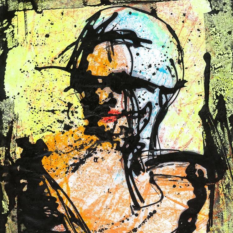 | Pinturas sobre papel - Painti - theophilorodrigues | ello