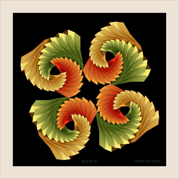 Hidden Möbius strips - illustration - igor01 | ello