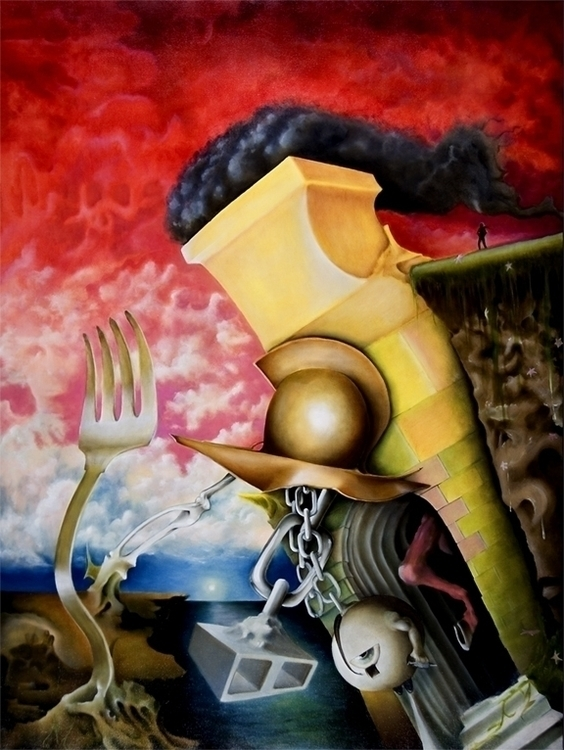 Testimony Greed (Distilled Blem - feltdragon33 | ello