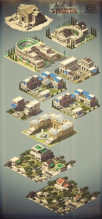 gameloft, environment, conceptart - nen-1282 | ello