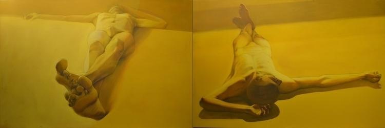 ''Gold Dust'' 360x120 cm , acry - maryna-6139 | ello