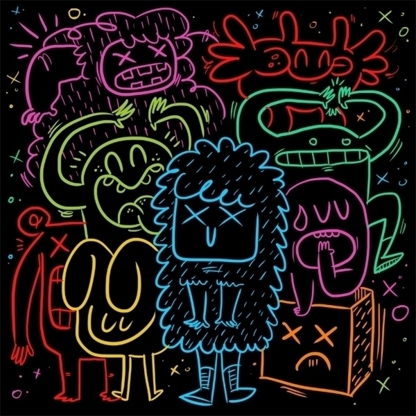 NEON - doodle, illustration, color - jcarcavilla | ello
