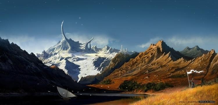 illustration, conceptart, fantasy - qci | ello