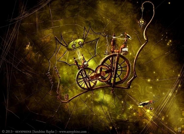 Spider Fireflies picture Mystér - senyphine | ello