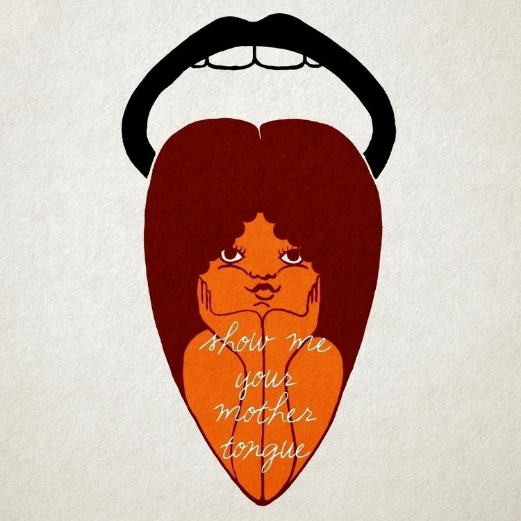 Mama Asia - illustration, graphicdesign - valentinabolognini | ello