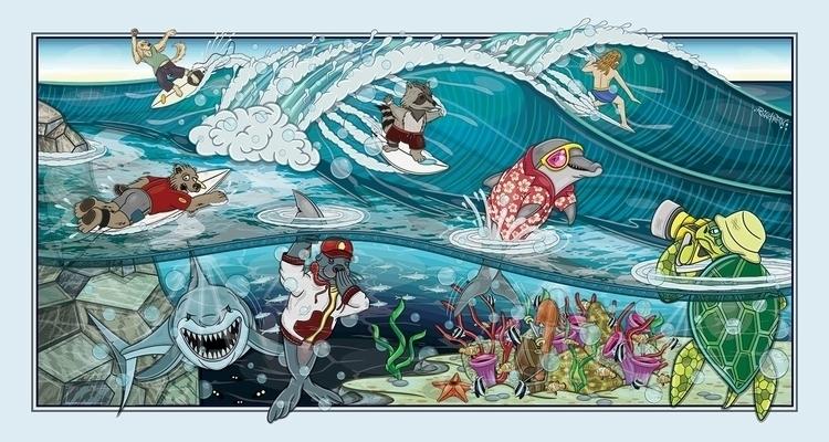 SURF SEASON Surf Season, vector - ronaldpantin | ello