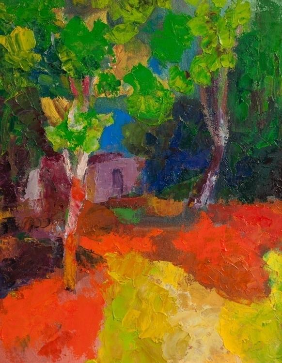 Garden - painting - mcmester | ello