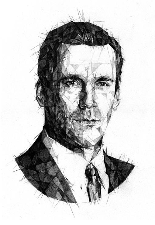 Don Draper - pencil - Madmen, DonDraper - zregreb | ello