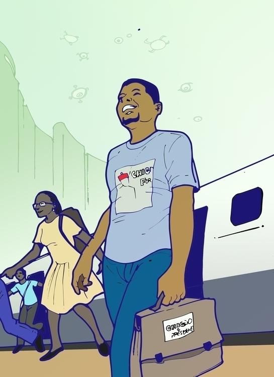 Emeka - illustration - sunnyefemena | ello