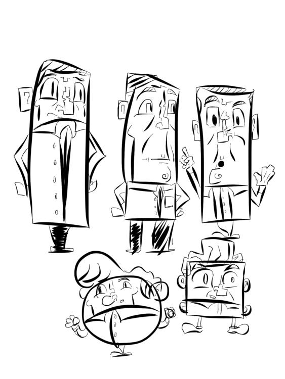 Character Design Stury - sebiosalces | ello