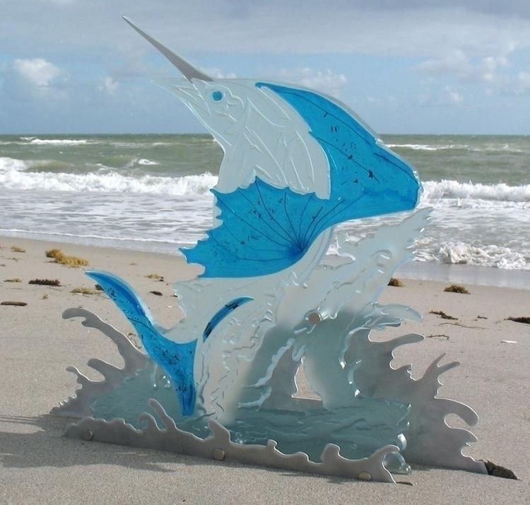 Sail fish - #glassArt, #interiordesign - dalespiry | ello