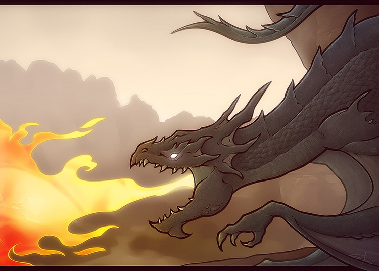 flare - dragon, dragons, fantasy - sarcix | ello