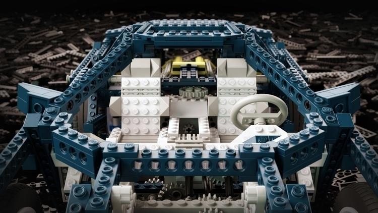 3d, lego, technics, 3dart - arturtamiola | ello