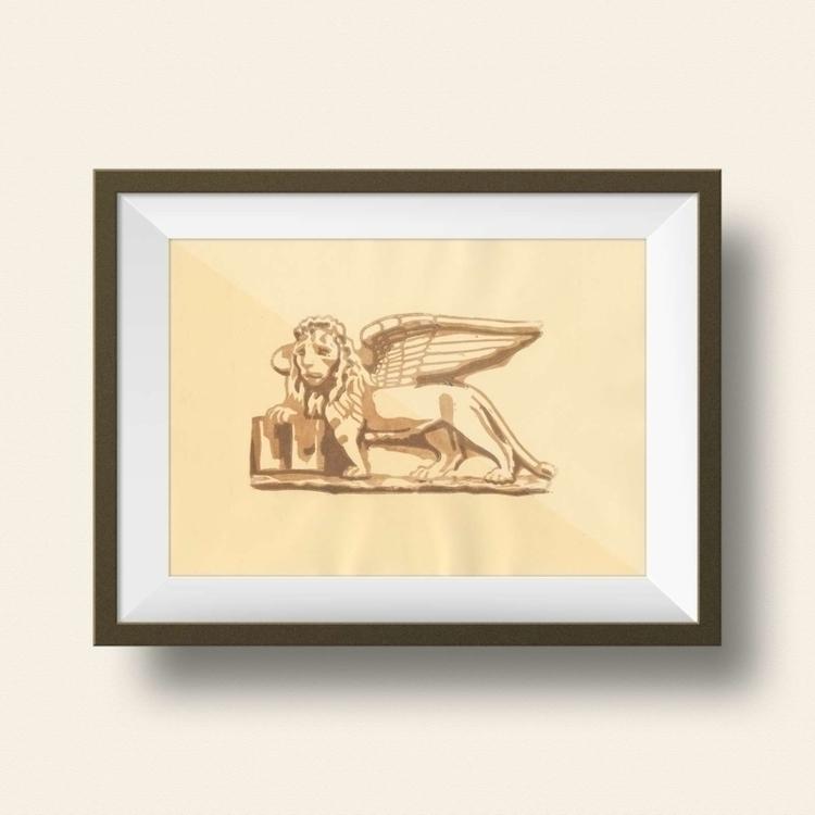 Linocut printed Favini ivory pa - ariautas | ello