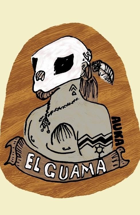 Guama - illustration, characterdesign - kumavilla | ello