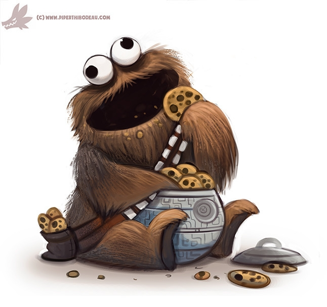 Daily Paint Cookie Wookie Monst - piperthibodeau | ello