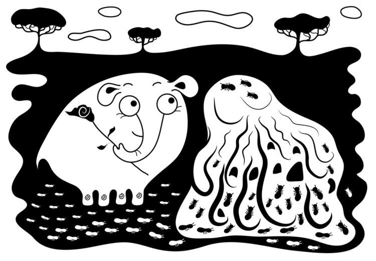 elephant termite - illustration - ololonycolophony | ello