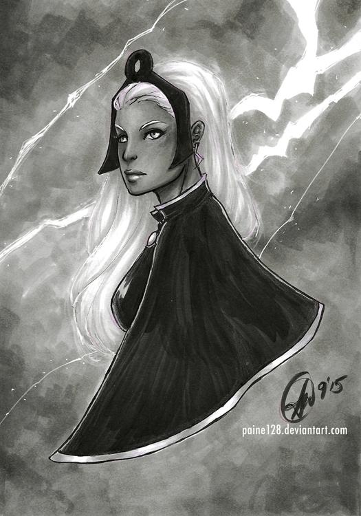 Storm Marvel Comics Copic Marke - swilliams1-9702 | ello