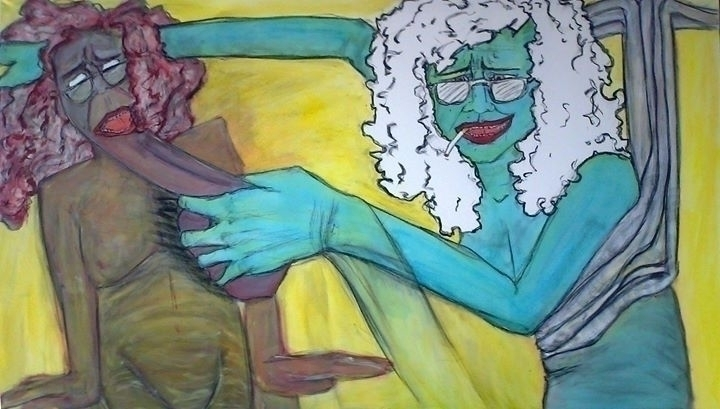 Master Puppets Acrilic charcoal - annagomes | ello