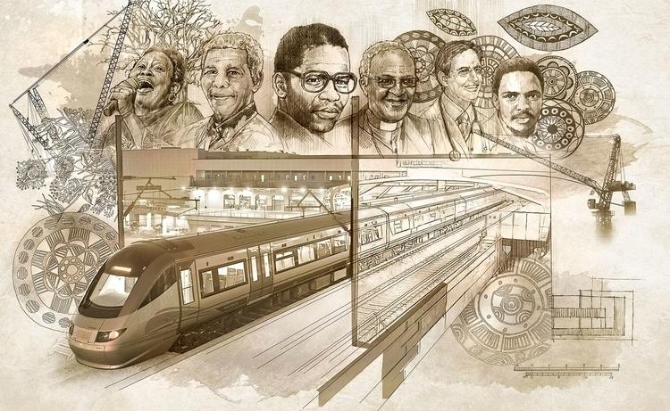Oliver Tambo Boardroom - DigitalIllustration - vantage-9372 | ello