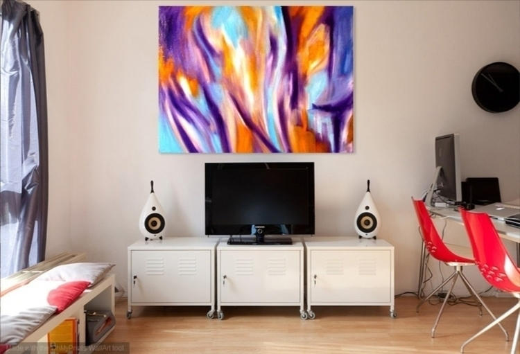 Oil canvas. Large Format - abstract - pdingley   ello