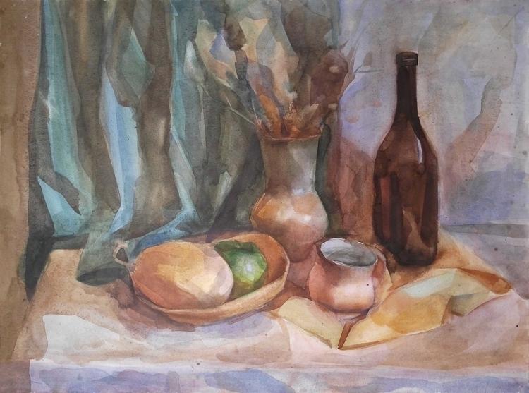life. Paper, watercolor - painting - 2djanel | ello