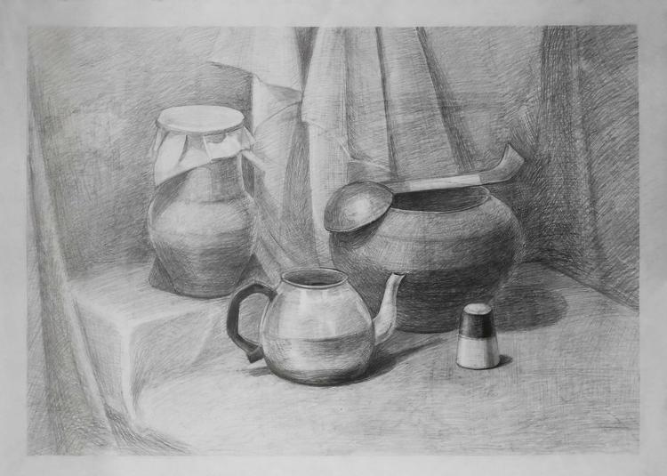 life. Paper, pencil - painting, drawing - 2djanel | ello