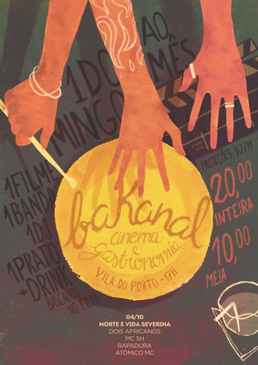 Bakanal - party, poster - minnamr | ello