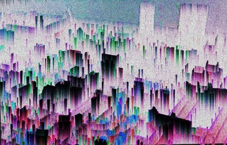 painting, digitalart, glitch - raphaelsinclair | ello