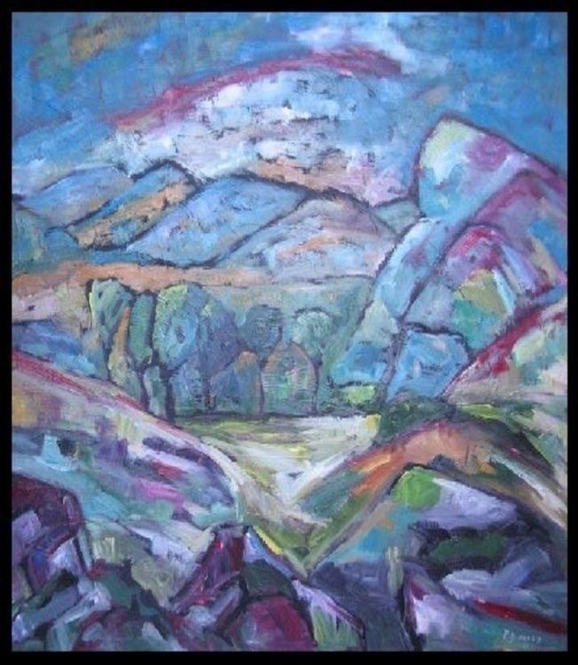 Oil canvas, framed. Large forma - pdingley | ello